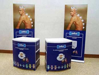 Roll Up Elegance + Desk promozionali